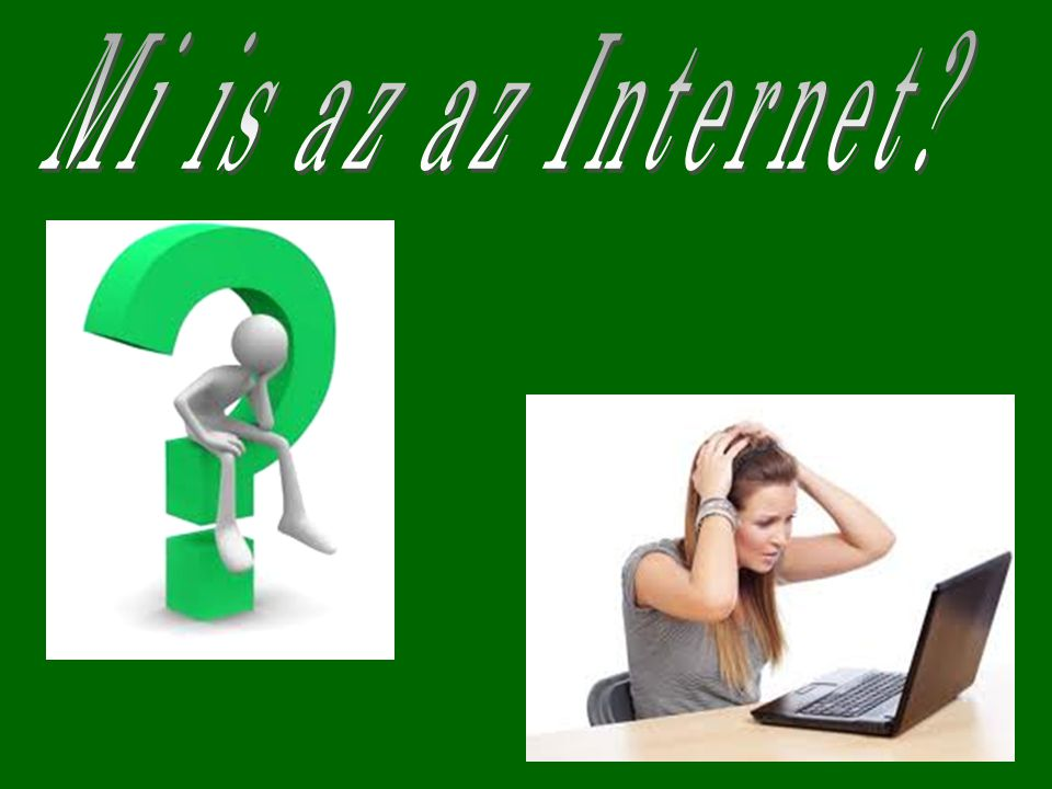 Mi is az az Internet
