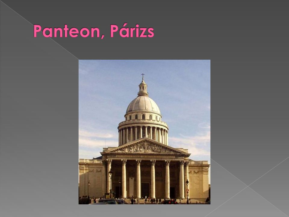 Panteon, Párizs