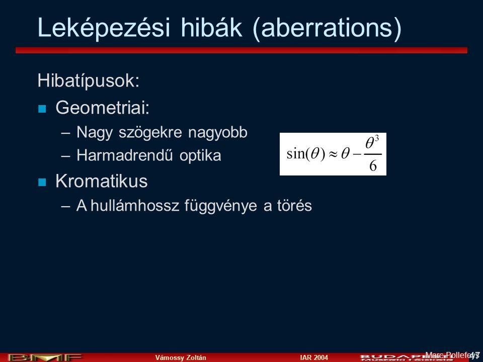 Kamerák és képalkotás Vámossy Zoltán ppt letölteni 043cdd1173