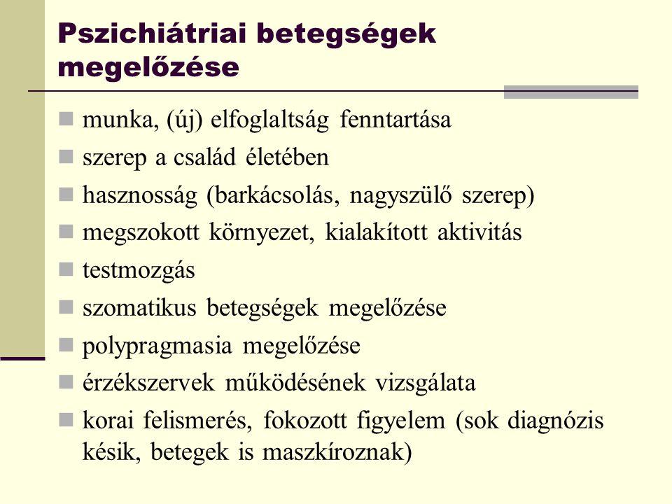 pszichés betegségek fajtái)
