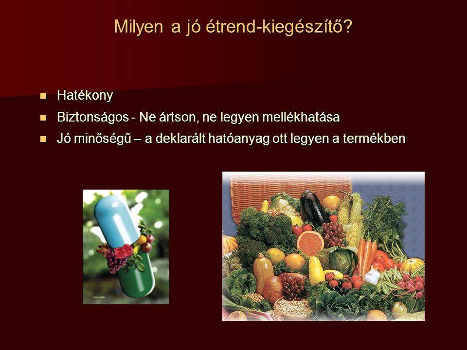 jó étrend-kiegészítők)