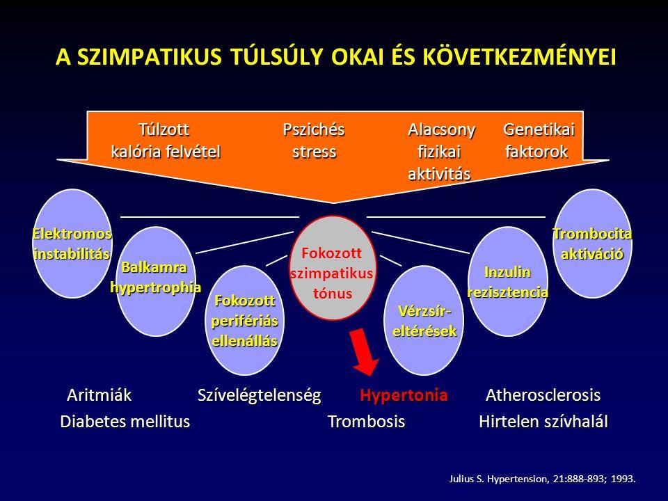 szimpatikus rendszer és magas vérnyomás