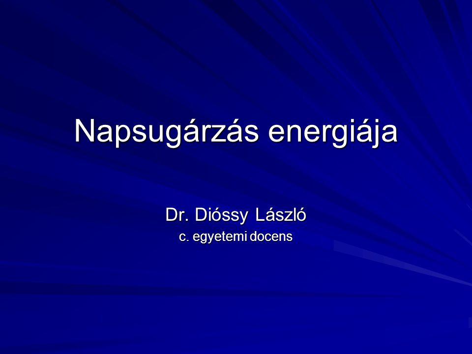 Napsugárzás energiája - ppt letölteni b86c753676