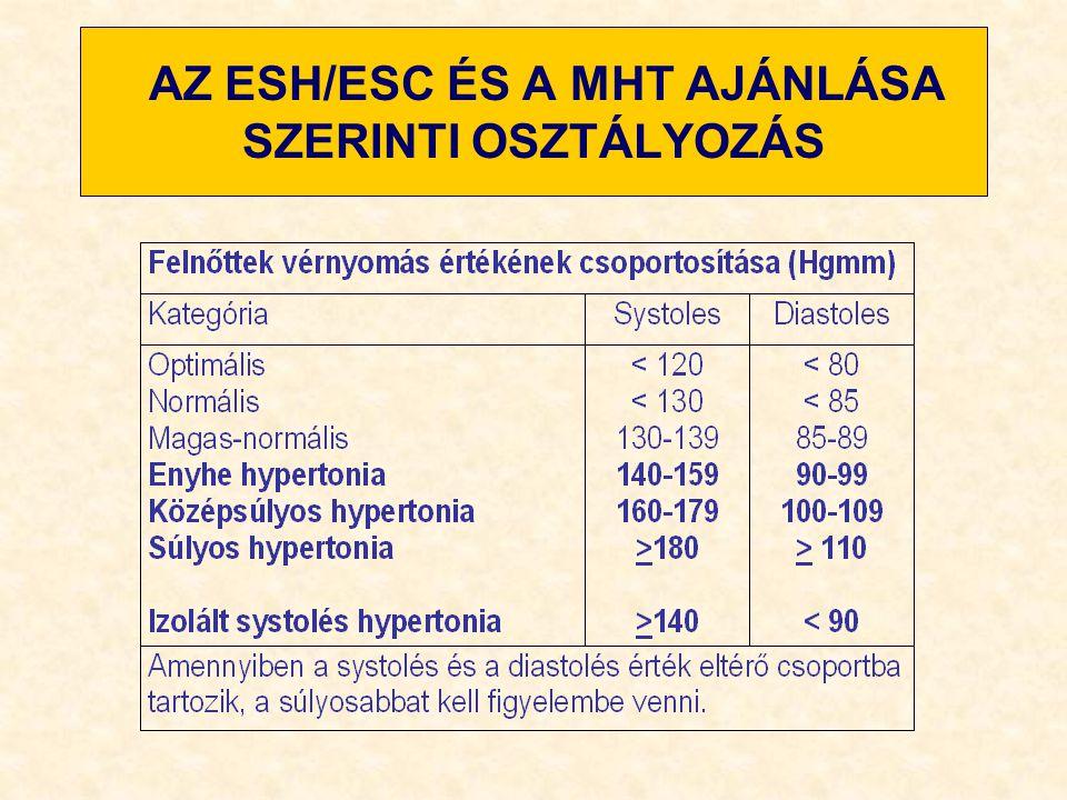 a magas vérnyomás szakaszok szerinti osztályozása meghalnak magas vérnyomásban