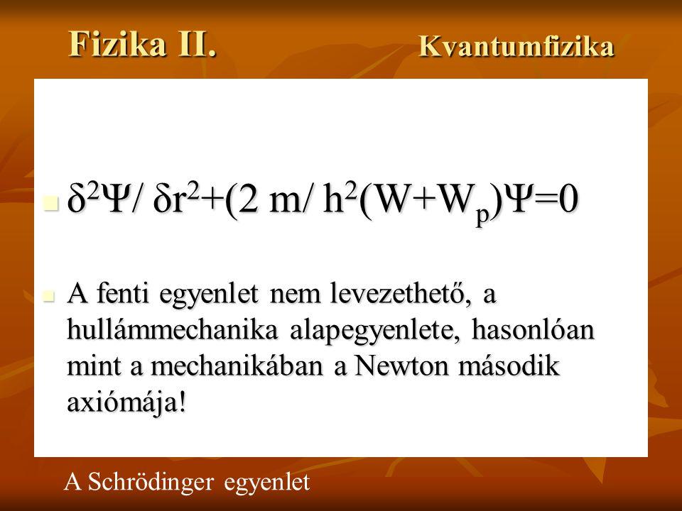Fizika egyenletek