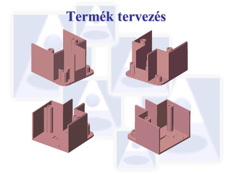 Termék tervezés At the product design stage, 3D solid models can be easily and quickly checked for manufacturability.
