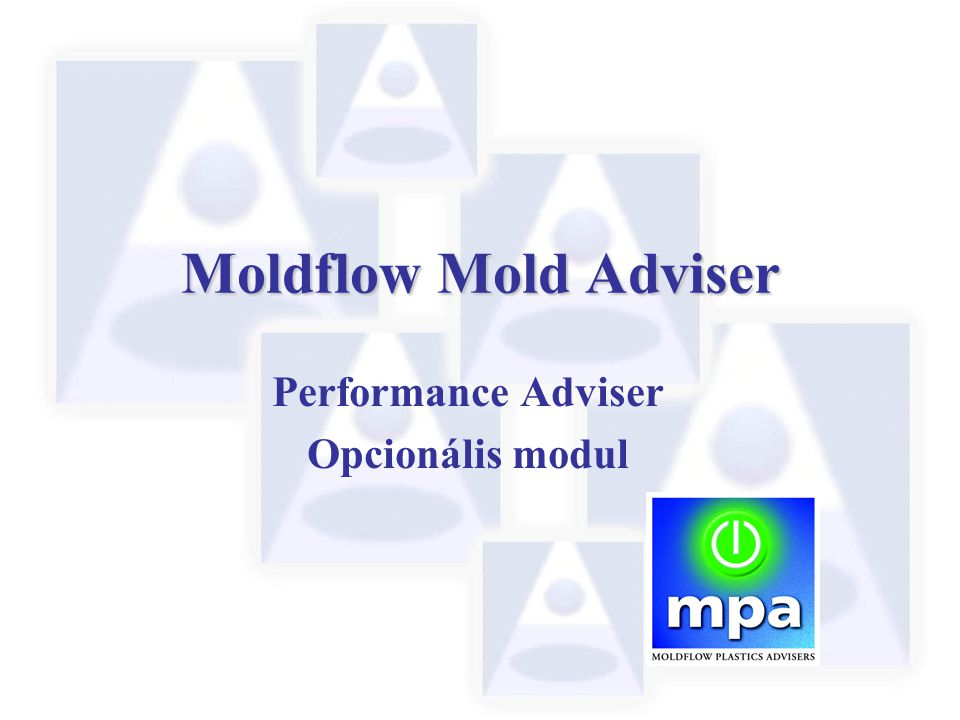 Performance Adviser Opcionális modul