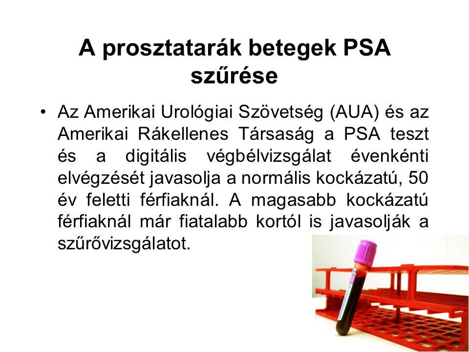 prosztatarák ppt