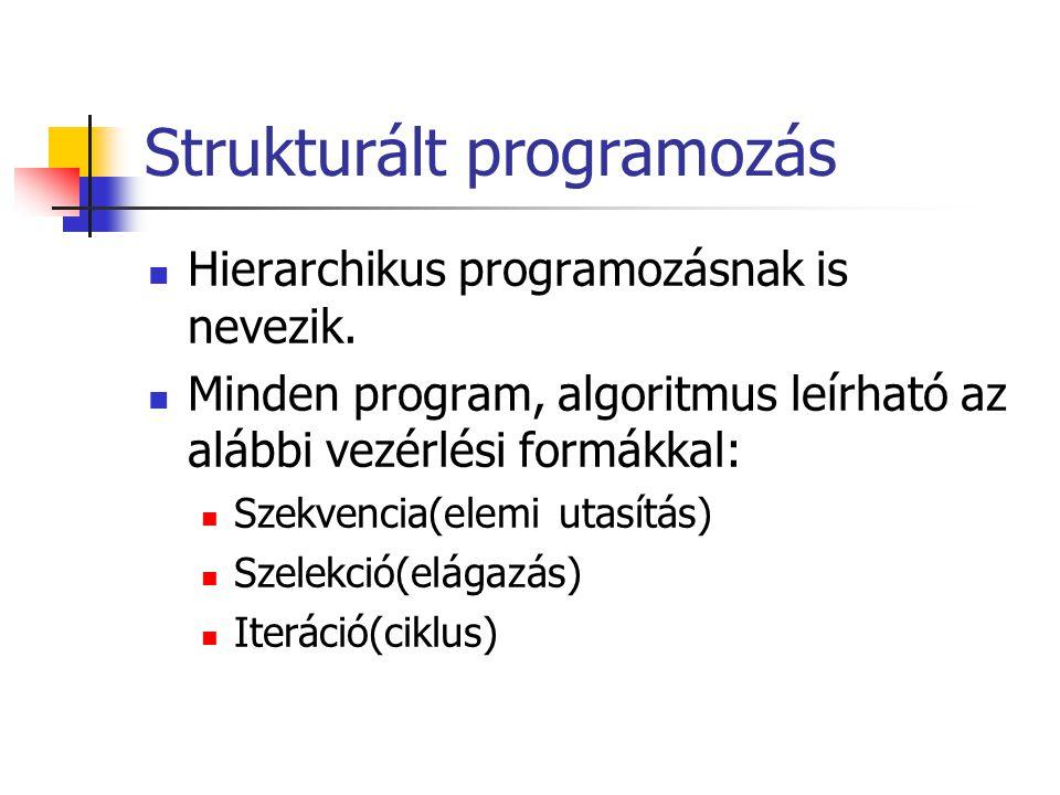 Objektumorientált programozás - ppt letölteni c935b6f047