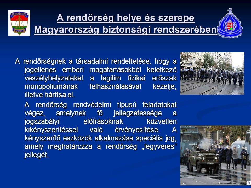 57348957b2a7 Rendészeti együttműködési lehetőségek és a rendőri intézkedések jog ...