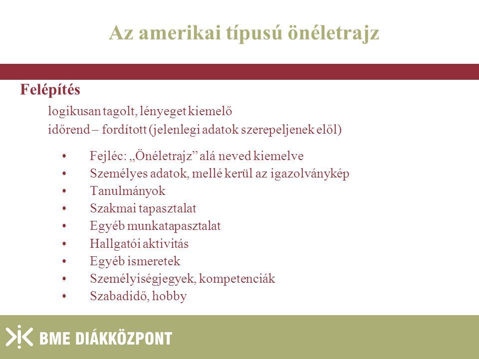 önéletrajz időrend Budapesti Műszaki és Gazdaságtudományi Egyetem   ppt letölteni önéletrajz időrend