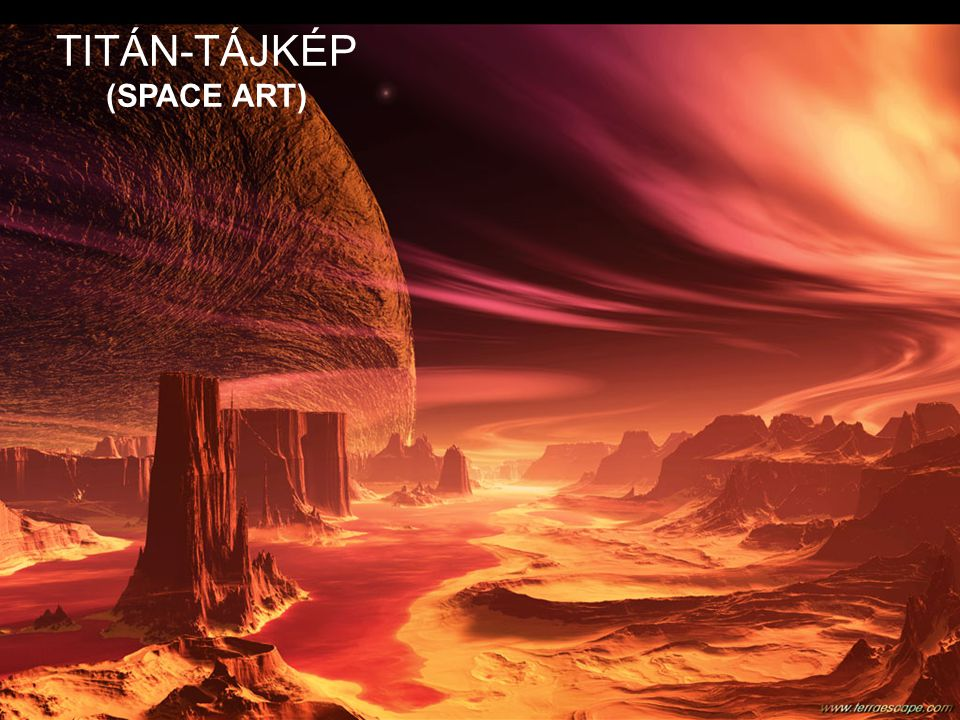 TITÁN-TÁJKÉP (SPACE ART)