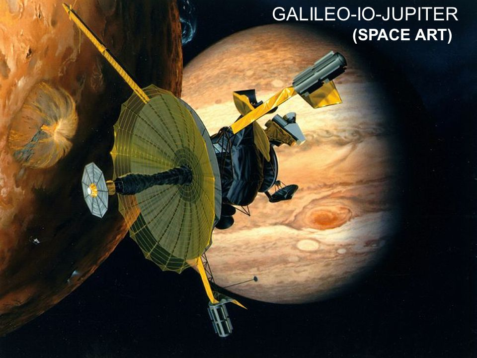 GALILEO-IO-JUPITER (SPACE ART)