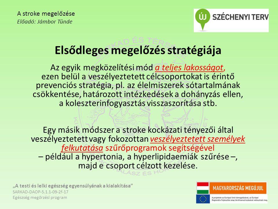 fogyás stroke megelőzése