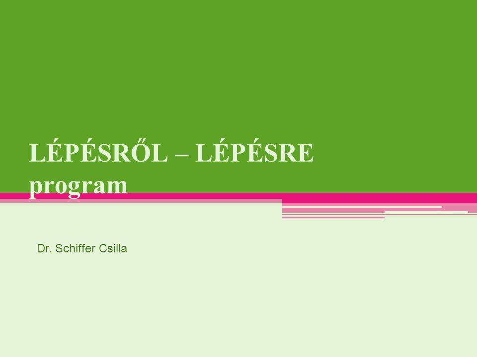 a90ad68e6548 LÉPÉSRŐL – LÉPÉSRE program - ppt letölteni