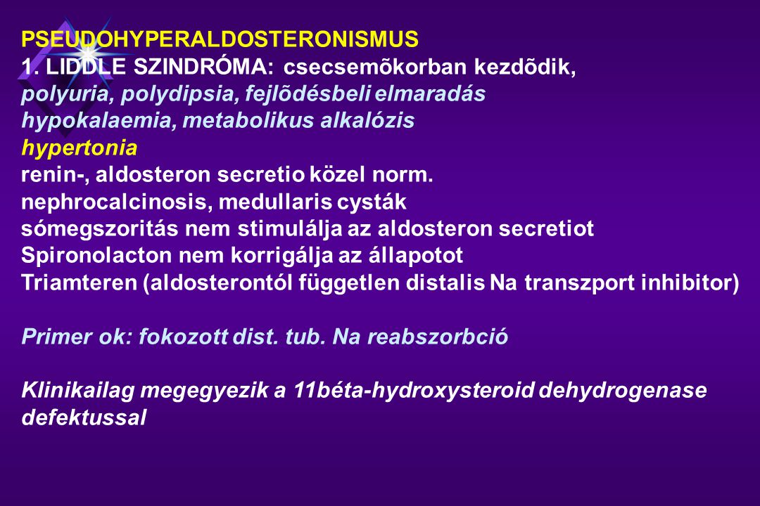 a primer hipertónia etiológiája