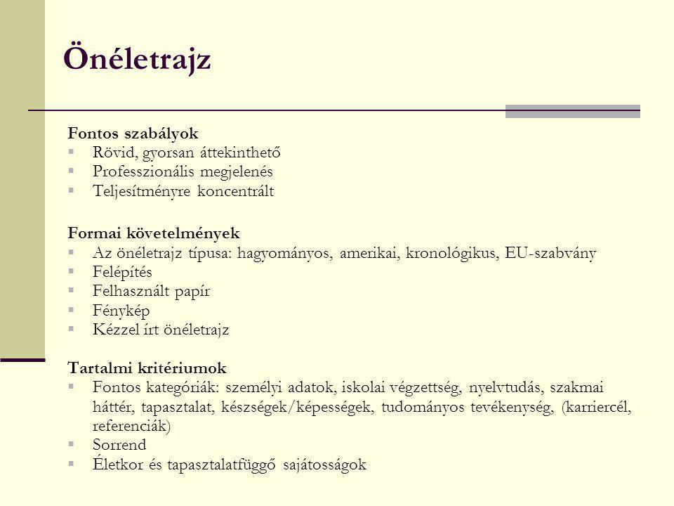 önéletrajz képességek kompetenciák A munkaerő állomány biztosításának folyamata: a toborzás   ppt  önéletrajz képességek kompetenciák