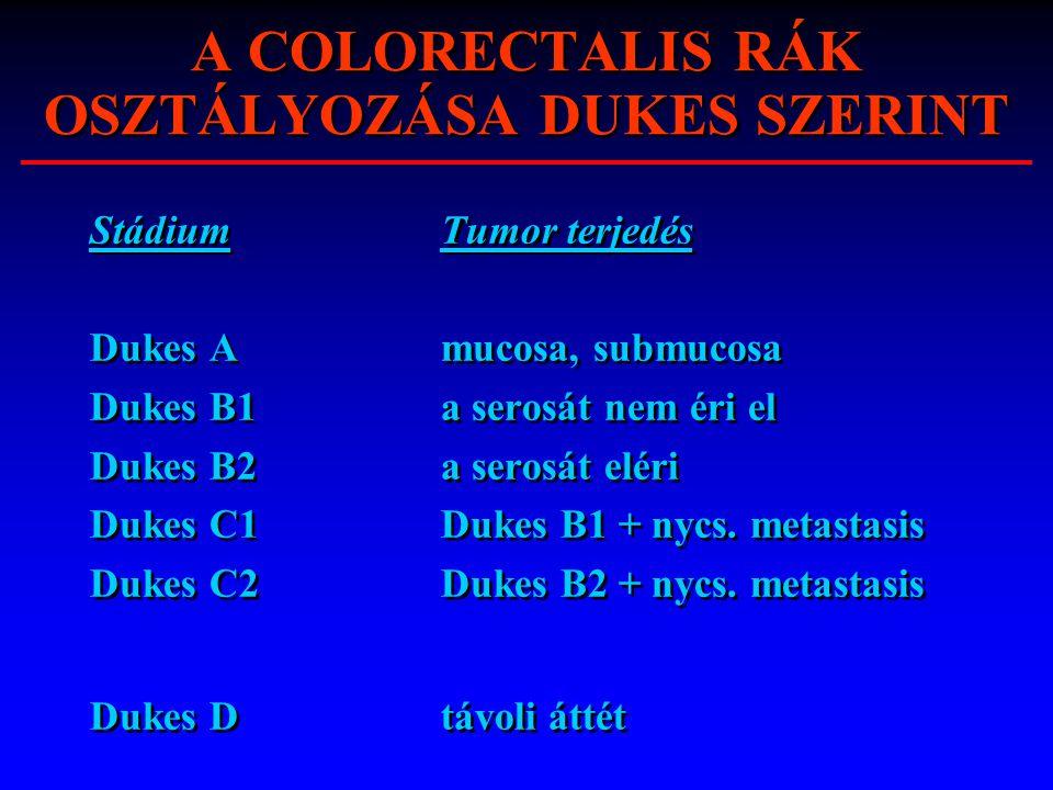 colorectalis rák