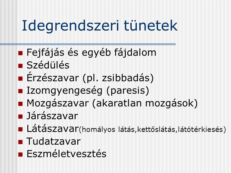 neurológiai betegségek látással)